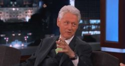 Bill Clinton Jimmy Kimmel UFO aliens Roswell Area 51